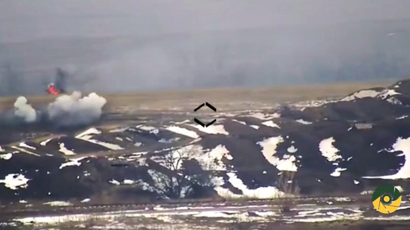 Ukraine knock out Russian AFV