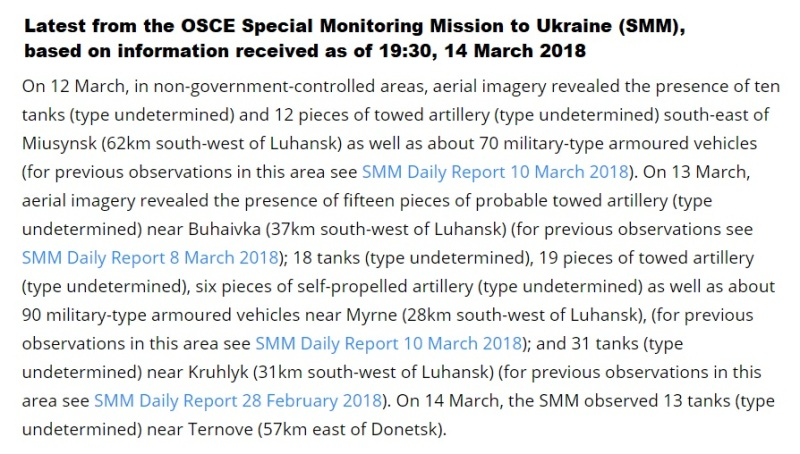 OSCE latest news